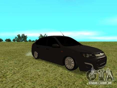 Lada Granta Kalina 2 para GTA San Andreas