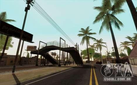 ENB para baixo PC (SAMP) para GTA San Andreas terceira tela