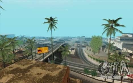 ENB para baixo PC (SAMP) para GTA San Andreas oitavo tela