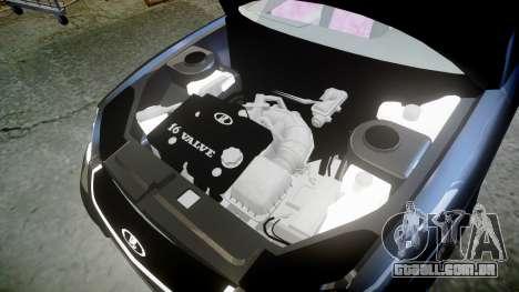 ВАЗ-21728 LADA Priora Coupe para GTA 4 vista lateral