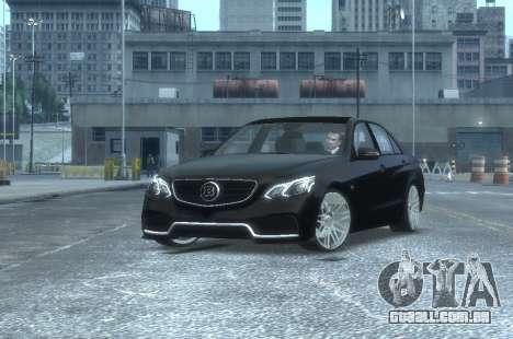 Mercedes-Benz E63 BRABUS 850 para GTA 4