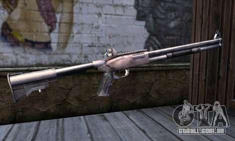 Chromegun Standart para GTA San Andreas segunda tela