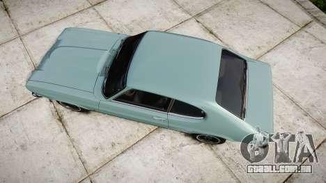 Ford Capri GT Mk1 para GTA 4 vista direita