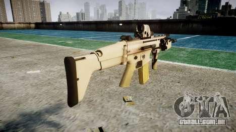 Máquina FN SCAR-L Mc 16 icon3 para GTA 4 segundo screenshot
