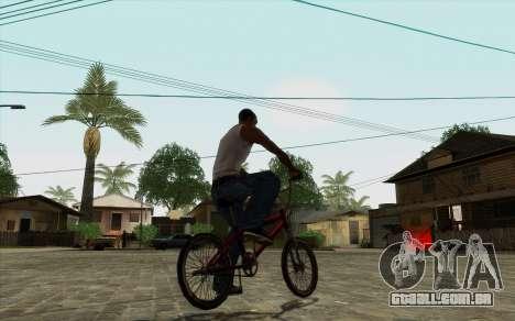ENB para baixo PC (SAMP) para GTA San Andreas por diante tela