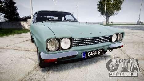Ford Capri GT Mk1 para GTA 4