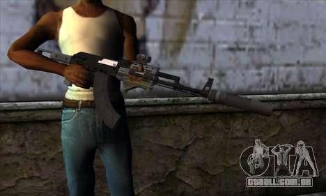 Assault Rifle from GTA 5 para GTA San Andreas terceira tela