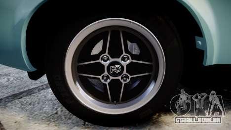 Ford Capri GT Mk1 para GTA 4 vista de volta