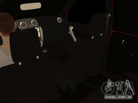 Lada Granta Kalina 2 para vista lateral GTA San Andreas