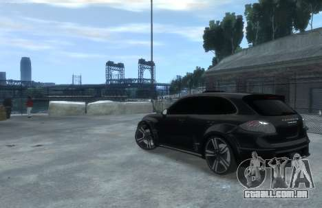 Porsche Cayenne 2012 GT para GTA 4 esquerda vista