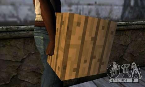 Bloco (Minecraft) v11 para GTA San Andreas terceira tela