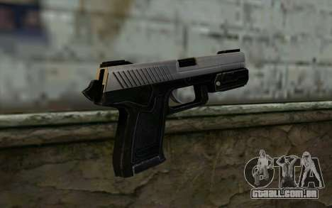 Pistol from Deadpool para GTA San Andreas segunda tela
