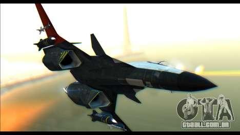 ADFX-02 Morgan para GTA San Andreas traseira esquerda vista