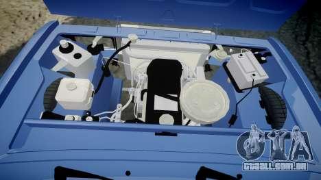UTILIZANDO-2107, Lambo para GTA 4 vista interior