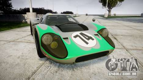 Ford GT40 Mark IV 1967 PJ Arnao Racing 74 para GTA 4