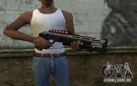 Shotgun from Deadpool para GTA San Andreas terceira tela