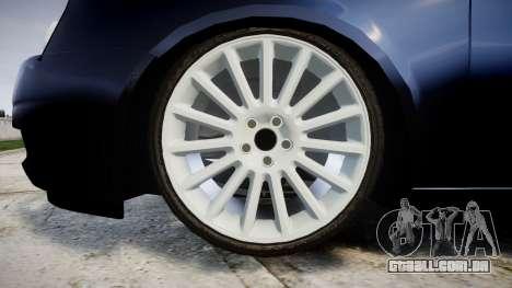 ВАЗ-21728 LADA Priora Coupe para GTA 4 vista de volta