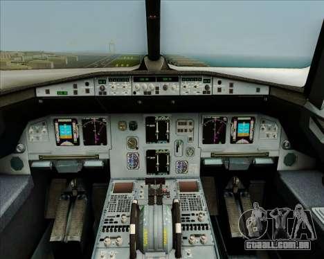 Airbus A320-200 Airphil Express para GTA San Andreas interior
