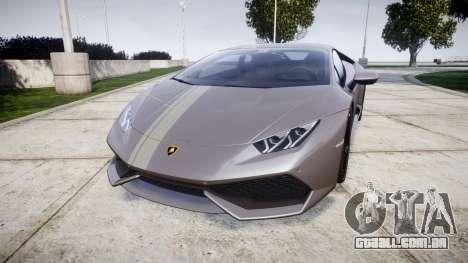 Lamborghini Huracan LP 610-4 2015 para GTA 4