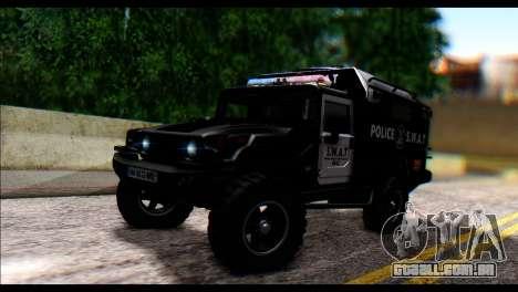 SWAT Enforcer para GTA San Andreas