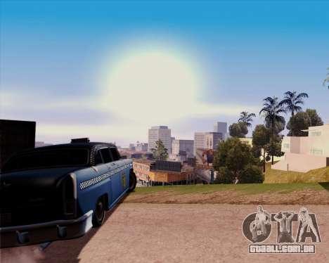Borgnine para GTA San Andreas traseira esquerda vista