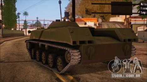 BMD-1 de ArmA Assalto Armado Padrão para GTA San Andreas esquerda vista