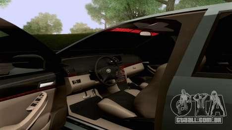 Toyota Vios Extreme Edition para GTA San Andreas vista superior