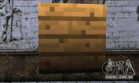 Bloco (Minecraft) v11 para GTA San Andreas