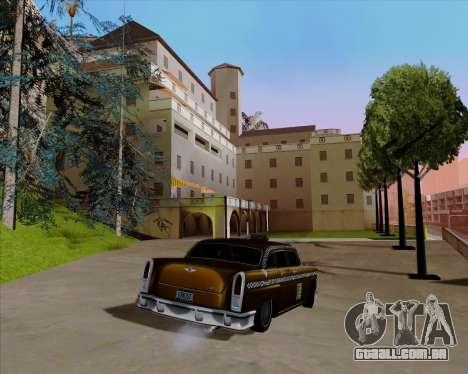 Borgnine para GTA San Andreas vista traseira
