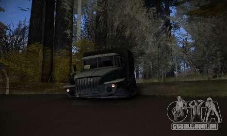 Pista de off-road 2.0 para GTA San Andreas quinto tela