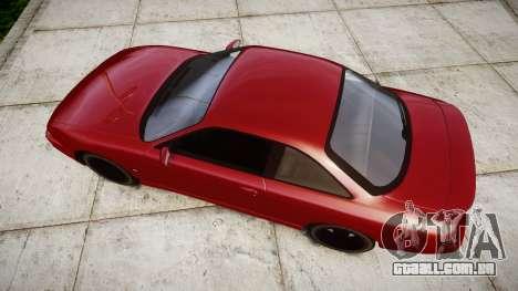 Nissan Silvia S14 200SX para GTA 4 vista direita