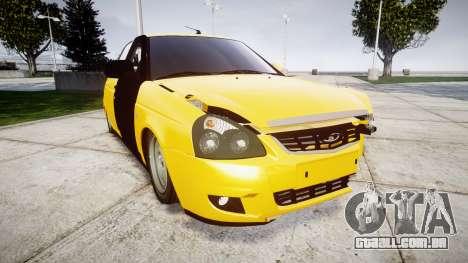 VAZ-Lada 2170 Priora hobo para GTA 4