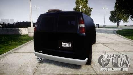 GTA V Bravado Rumpo para GTA 4 traseira esquerda vista