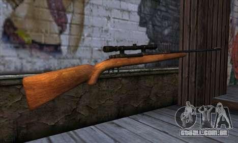 Sniper Rifle from The Walking Dead para GTA San Andreas segunda tela