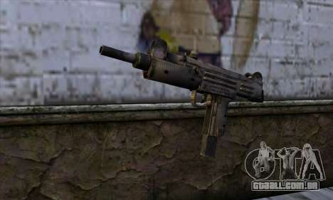 Uzi из Call of Duty Black Ops para GTA San Andreas