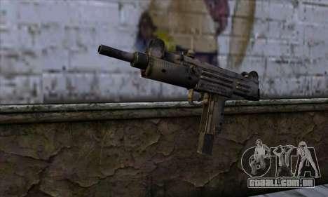 Uzi из Call of Duty Black Ops para GTA San Andreas