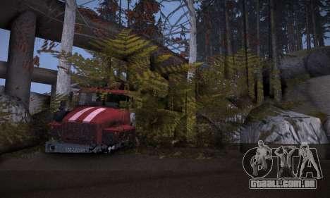 Pista de off-road 2.0 para GTA San Andreas sétima tela