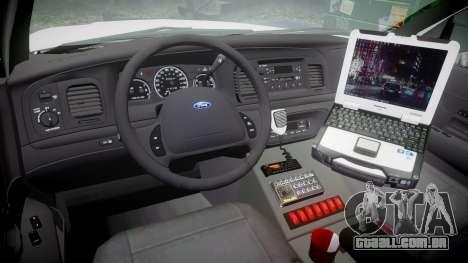 Ford Crown Victoria [ELS] Liberty County Sheriff para GTA 4 vista de volta