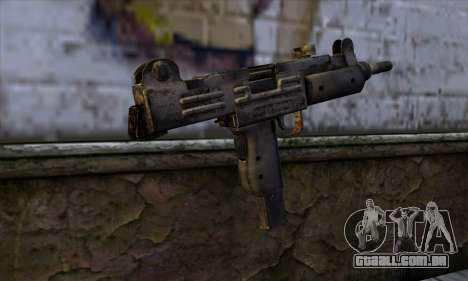 Uzi из Call of Duty Black Ops para GTA San Andreas segunda tela