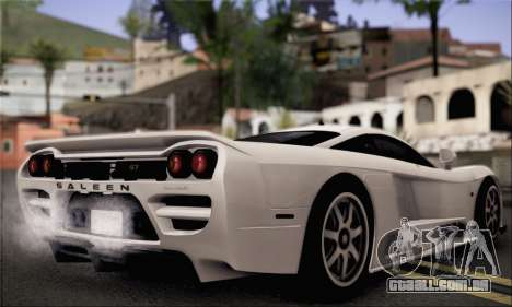 Saleen S7 Twin Turbo para GTA San Andreas esquerda vista