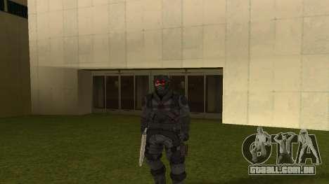 Skin Third Echelon para GTA San Andreas