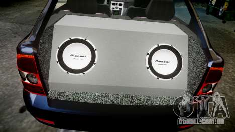 ВАЗ-21728 LADA Priora Coupe para GTA 4 vista superior
