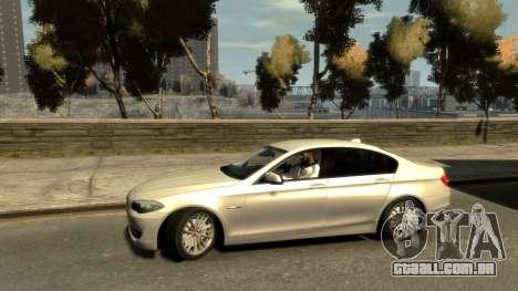 BMW 525 F10 para GTA 4