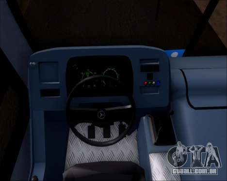 Marcopolo Torino G7 2007 Mercedes-Benz OF-1722M para GTA San Andreas vista interior