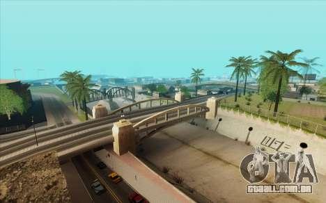 ENB para baixo PC (SAMP) para GTA San Andreas quinto tela
