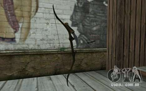 Green Arrow Bow v1 para GTA San Andreas segunda tela
