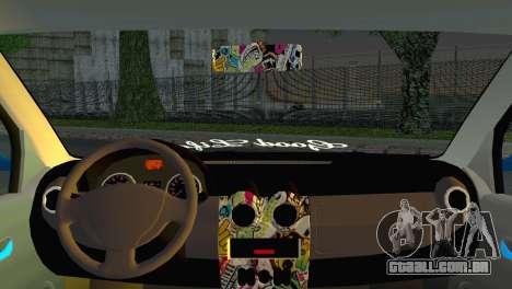 Dacia Logan Simply Clean para GTA San Andreas traseira esquerda vista