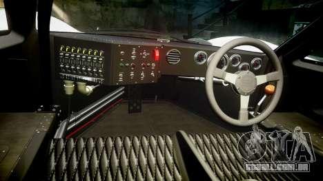 Ford GT40 Mark IV 1967 PJ Fernando Pedace 7 para GTA 4 vista de volta