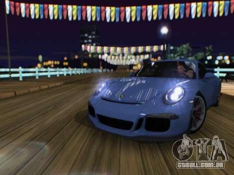 O Herp ENB FINAL para alta e média PC para GTA San Andreas por diante tela