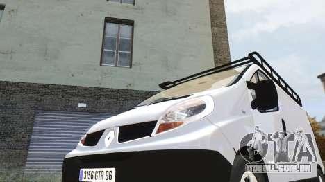 Renault Trafic para GTA 4 esquerda vista